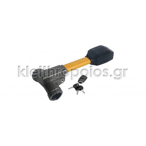 Αντικλεπτικό μπαστούνι τιμονιού , ηλεκτρονικό με συναγερμό , τηλεχειρισμό και κλειδί KLC-102