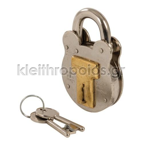 Λουκέτο Vintage Αγγλίας με κλειδί - Λαιμού