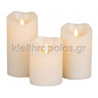Ηλεκτρικό κερί με κινούμενη φλόγα Large