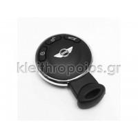 Κουβούκλιο mini cooper στρόγγυλο smart key