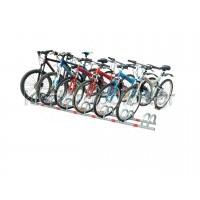 Μπάρα ποδηλάτων 7 θέσεων - PARK-BBR-7 Σταθερές μπάρες στάθμευσης ποδηλάτων