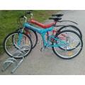 Μπάρα ποδηλάτων 3 θέσεων PARK-BBR-3 Σταθερές μπάρες στάθμευσης ποδηλάτων