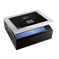 CS-H Technomax ηλεκτρονικό χρηματοκιβώτιο Επιδαπέδια Χρηματοκιβώτια