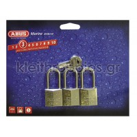 Λουκέτο όμοιου κλειδιού Abus 84IB/HB Triples Λουκέτα όμοιου κλειδιού - Στρατιωτικά πακέτα