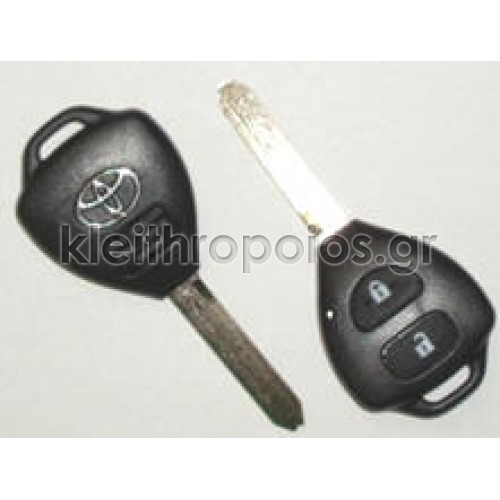 Κουβούκλιο Toyota με λάμα TOY7 με 2 κουμπιά Toyota