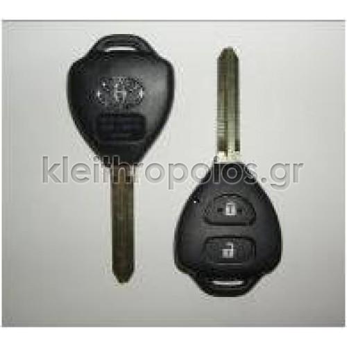 Κουβούκλιο Toyota με λάμα TOY43 με 2 κουμπιά (νέο) Toyota
