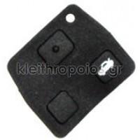 Ζελατίνα ανταλλακτικό για κουμπιά Toyota 2 και 3 κουμπιά Toyota