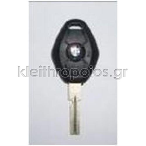 Κουβούκλιο BMW (Νέο) με 3 κουμπιά σκαλιστό και σήμα (αυλάκι) Bmw