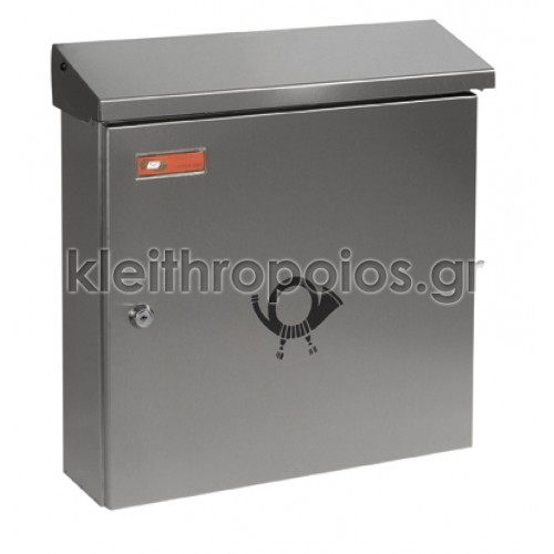 Γραμματοκιβώτιο Λονδίνο 9001 Inox Σειρά Inox