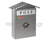 Γραμματοκιβώτιο Κολωνία 3002 Inox Σειρά Inox