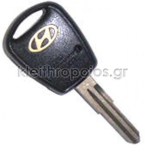 Κουβούκλιο Hyundai 1 κουμπί για Accent (μετά το έτος 2007) Hyundai