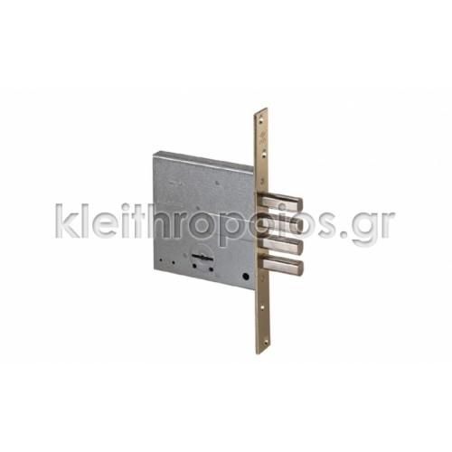 Cisa πρόσθετη κλειδαριά 4 στροφών με πύρρους Κλειδαριές πρόσθετες κεντρικής εισόδου