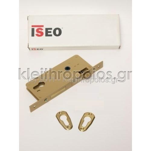 Κλειδαριά χωνευτή ISEO ξύλινης πόρτας Κλειδαριές ξύλινης εισόδου