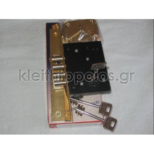 Gevy πρόσθετη 2 στροφών τρίαινα (4 πύροι) Κλειδαριές πρόσθετες κεντρικής εισόδου