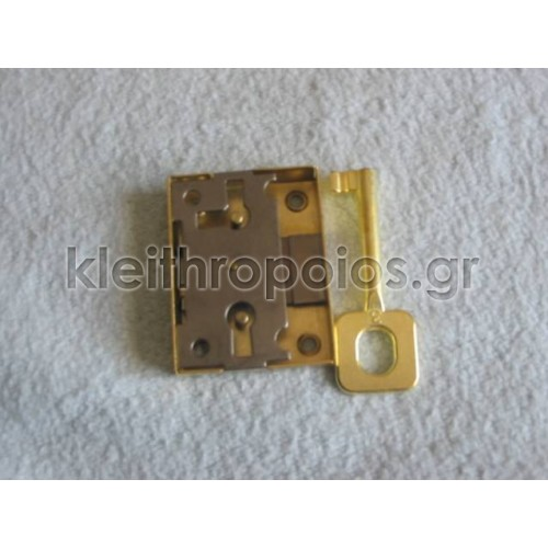 Κλειδαριά κουτιαστή επίπλων με απλό κλειδί Κλειδαριές επίπλων - ντουλαπιών