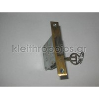 Κλειδαριά επίπλων χωνευτή με κλειδί απλό Κλειδαριές επίπλων - ντουλαπιών