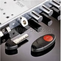 X1R - Ηλεκτρομηχανική κλειδαριά Θωρακισμένης πόρτας Κλειδαριές Εισόδου πολυκατοικίας