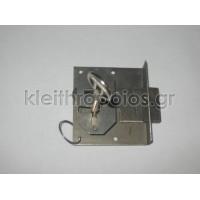 Κλειδαριά επίπλων σκαφτή με κλειδί απλό Κλειδαριές επίπλων - ντουλαπιών