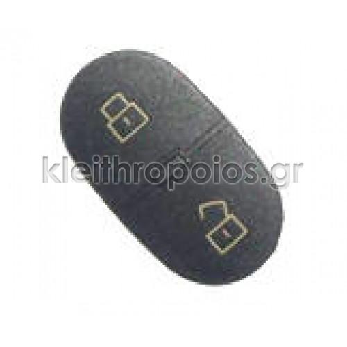 Ζελατίνα ανταλλακτικό για κουμπιά οβάλ Group Vag 2 κουμπιά Audi - Skoda - VW - Seat (group)