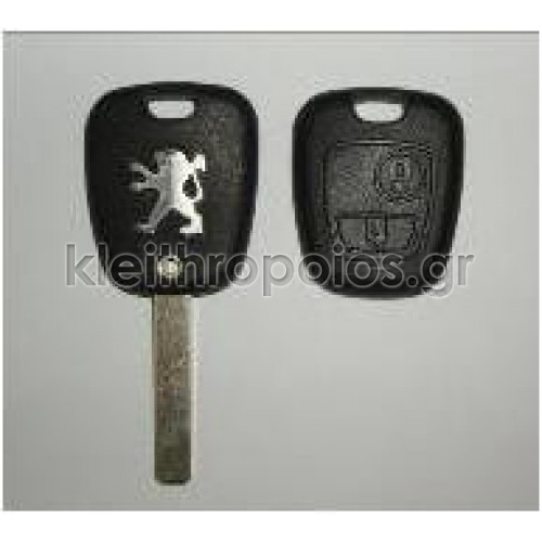 Κουβούκλιο Peugeot 307 - 2 κουμπιά Peugeot