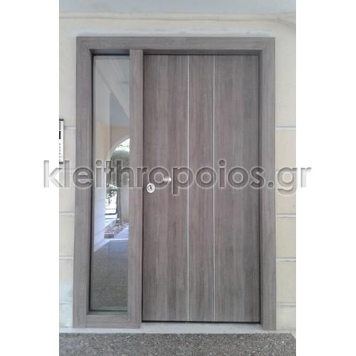 Πόρτα ασφαλείας Alpha Electra - είσοδος πολυκατοικίας Μοντέλα - τύποι