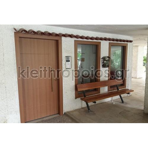 Πόρτα ασφαλείας Prime Electra - Κεντρική είσοδος πολυκατοικίας Μοντέλα - τύποι