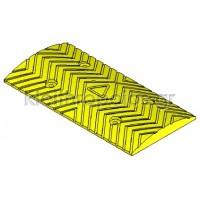 Σαμαράκι μεσσαίο τεμάχιο Κίτρινο ή Μαύρο - Σειρά 210 Σαμαράκια Δρόμων